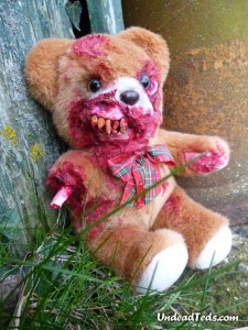 undead teds just in time for valentines day grisly images - Valentines Animals